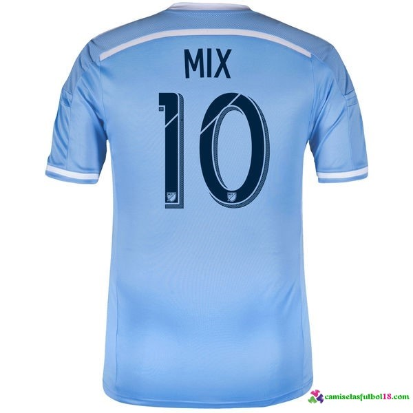 Mix Camiseta 1ª Kit New York City 2016 2017